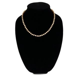 Vintage Monet Faux Pearl Beaded Necklace